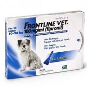 Frontline vet., spot-on, lösning 100 mg/ml 4 x 1,34 ml