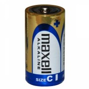 Set 2 baterii alcaline Maxell tip R14 (C)