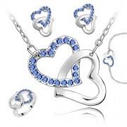 Set Elemente Swarovski Inima