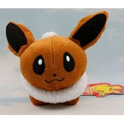 "Pokemon Plush Eevee 6"" Character Doll Stuffed Animals Figure Soft Anime Collection Toy"