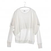 【SALE 50%OFF】【maisonmou】 【Parfum de Charmant Fleur/パルファム ドゥ シャルマンフルール】レイヤーロングカットソー(OFFWHITE)