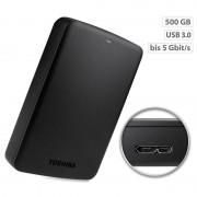 "Toshiba Canvio Basics Externe Festplatte 2,5"", 500 GB, USB 3.0"