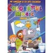 Coloratul magic cartea 1 - Ne amuzam si cu apa coloram