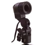 Suport universal de lampi Falcon Eyes Universal Lampholder LH-27SU cu suport de umbrela (tip Fasung)