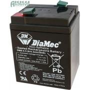 DIAMEC 6V 4,5Ah akkumulátor