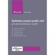 Nulitatea actului juridic civil prin prisma interesului ocrotit