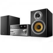 Микро музикална система Philips с измервател на VU и възпрозвеждане чрез Bluetooth /CD /MP3 / USB/ FM, 150 W RMS, BTB8000