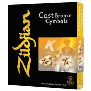 Zildjian K Cymbal Set 14HH/16C/18C/20R Sets de platos