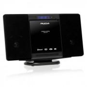 Auna MCD-81-BT Cadena estéreo Bluetooth USB negro