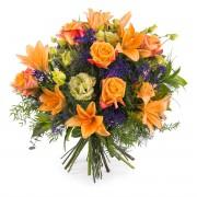 Interflora Ramo Especial com Rosas Laranja Interflora