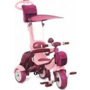Tricicleta Pentru Copii MyKids Happy Trip KR03B Roz