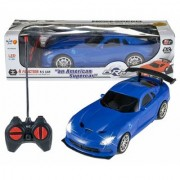 Remote Control High Speed Racing American Blue Super Car for Kids