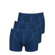Ten Cate Men Basic Shorty 30222 denim (3 pack) - Blauw - Size: Extra Large