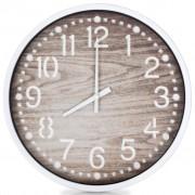 vidaXL Wall Clock Wood Look 30.5 cm