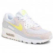 Обувки NIKE - Air Max 90 CW2650 100 White/Lemon Venom