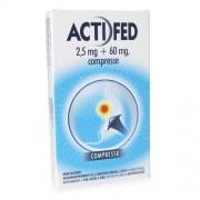 ActiFed 2,5 mg + 60 mg 12 Compresse (018723080)