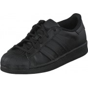 adidas Originals Superstar Foundation C Core Black/Core Black, Skor, Sneakers & Sportskor, Sneakers, Svart, Barn, 28