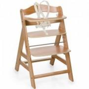 Дървено столче за хранене - Alpha Plus Natur, Hauck, 661079