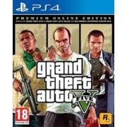PlayStation 4 Game Grand Theft Auto 5, Retail Box, No Warranty on Software