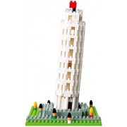 Kawada Nanoblock The Leaning Tower of Pisa Building Kit