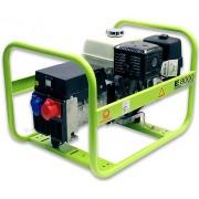 Generator portabil de curent electric trifazat, motor benzina, 6.6KW, Pramac MES8000T