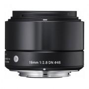 SIGMA 19mm f/2.8 DN Art Micro 4/3 Preta