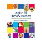 Slattery Mary English For Primary Teachers (libro + Cd)