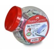 Radiera Creion Shape Pastel Borcan 96 Buc Faber-Castell
