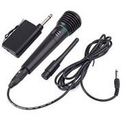 WM-308C 2in1 Handheld Wired/Wireless Cordless Microphone Karaoke System Undirectional