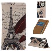 Capa Tipo Carteira Glam Samsung Galaxy A10 - Torre Eiffel