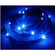 Cablu NZXT Sleeved LED Kit Blue 12x LED 1m, CB-LED10-BU