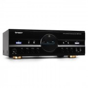 Auna Surround АудиоУсилвател за домашно кино600W Max - Черен (AV1-AMP-218-B-V2)