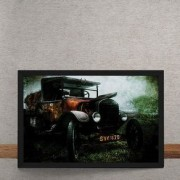 Quadro Decorativo Vintage Grass Collector 25x35