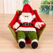 Tradico Christmas Party Home Decoration Trumpet Parachute Santa Claus Ornament Toys for Kids Children Gift