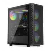 Carcasa Silentium PC Signum SG1V EVO TG ARGB, MidTower (Negru)