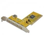 Estilo с 4 External 1 Internal Ports USB 2.0 PCI Adapter, NEC Chips