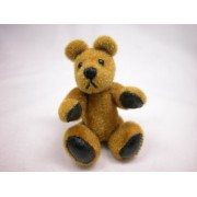 "World of Miniature Bears 2.75"" Plush Bear Floyd #5045 Collectible Miniature"