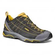 Asolo: Nucleon GV MM - pánské boty Barva: graphite/yellow, Velikost: 11.5