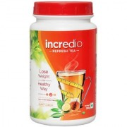 Incredio Refresh Tea(With Green Tea Extract Garcinia Extract And Green Coffee Bean Extract & Caffeine)-For Weight Management 0.2 Kg Lemon Honey