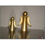 Engel modern goud 22cm