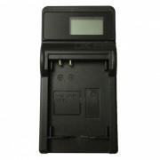 Cargador de bateria ismartdigi 5L LCD USB camara movil para Canon NB-5L-negro
