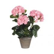 Floare artificiala, hortensie, roz