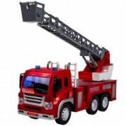 Masina mare de pompieri cu lumini si sunete