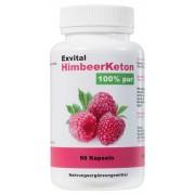 EXVital HimbeerKeton, 90 Kapseln in Premiumqualität, 100% Keton, Ho...