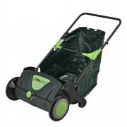 Колектор за листа и трева, 110 x 68 x 77 cm, Черен / Зелен [casa.pro]®