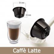 Caffè Kickkick 50 Caffè Latte Compatibili Nescafè Dolce Gusto