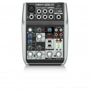 Mezclador Analógico Con 5 Canales Y USB Behringer XENYX Q502USB