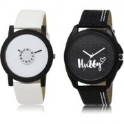 The Shopoholic White Black Combo New Stylist Latest White And Black Dial Analog Watch For Boys Watches For Men Analog
