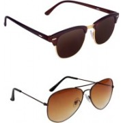 Egor Clubmaster Sunglasses(Multicolor)