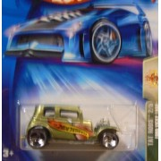 Tat Rods Series #2 Ford Vicky 1932 3-Spoke Wheels #2004-119 Collectible Collector Car Mattel Hot Wheels